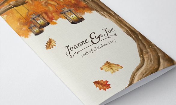 Wedding Stationery- Joanne and Joseph